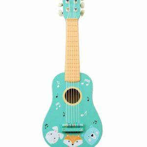 Gitara drewniana zwierzaki - Adam Toys