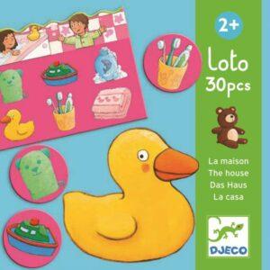 Gra edukacyjna lotto Dom DJ08121 - Djeco