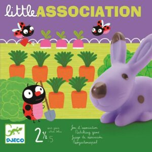 Gra planszowa Litlle Association DJ08553 - Djeco