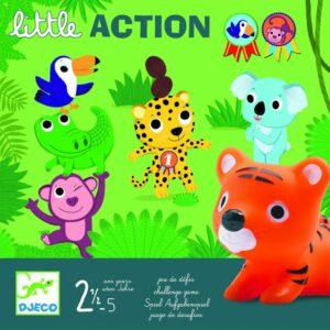 Gra wyzwanie Litlle Action DJ08557 - Djeco