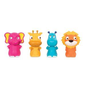 Pinky Pals – pacynki na palce Załoga z Zoo- B.Toys