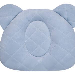 Poduszka z wgłębieniem na główkę - Royal Baby - Denim - Sleepee