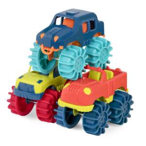 Thunder Monster – Monster Trucks – zestaw 6 Monster Trucków - B.Toys