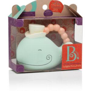 Wiggle the Whale – gryzak naturalny – Wieloryb - B.Toys