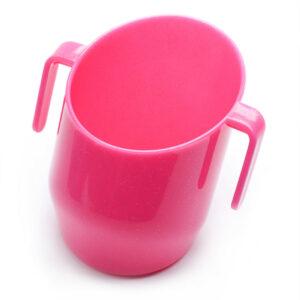 Doidy Cup fuksja z brokatem-kubek treningowy