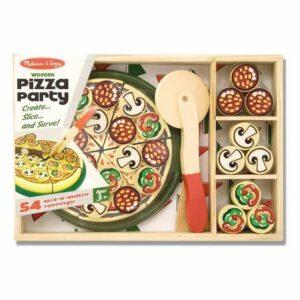 Drewniany Zestaw Pizza Party - Melissa & Doug