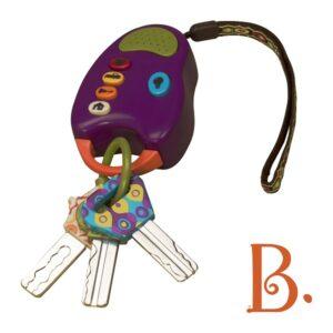 FunKeys – zestaw kluczy samochodowych z pilotem - B.Toys