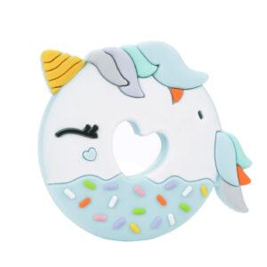 Gryzak - Unicorn Donut Blue - LouLou Lollipop