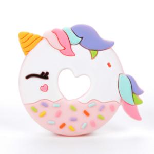 Gryzak - Unicorn Donut Pink - LouLou Lollipop
