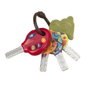 LucKeys–zestaw kluczy samochodowych z pilotem - B.Toys