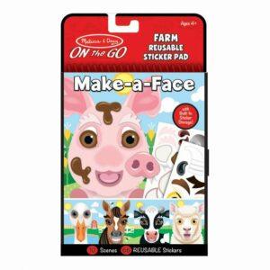 Naklejki Stwórz twarz: Farma - Melissa & Doug