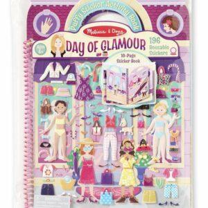 Naklejki wypukłe - Day of Glamour - Melissa & Doug