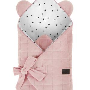 Rożek niemowlęcy - Royal Baby - Pink - Sleepee
