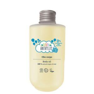 Bezzapachowy olejek do ciała dla dzieci, szklane opakowanie 125ml - Baby Anthyllis ZERO