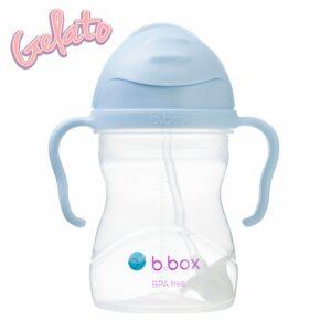 Bidon ze słomką 240 ml - Gelato Bubblegum - b.box