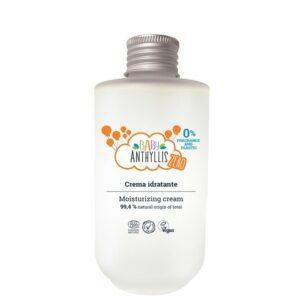 Krem nawilżający dla dzieci, bezzapachowy, naturalne prebiotyki, szklane opakowanie ZERO WASTE - 125ml - Baby Anthyllis ZERO