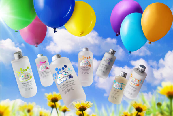 Płyn do kąpieli dla dzieci, bezzapachowy, naturalne prebiotyki, szklane opakowanie ZERO WASTE - 200ml - Baby Anthyllis ZERO