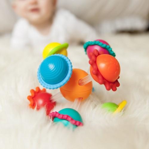 Grzechotka Wimzle - Sensoryczna Przygoda - Fat Brain Toy Co