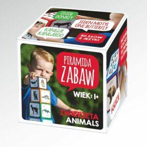 Piramida Zabaw - Wyjątkowe Klocki Zwierzęta
